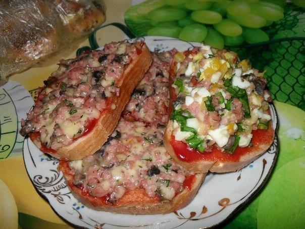 Бутерброды быстро и вкусно рецепты с фото